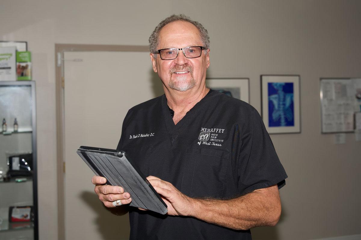 Dr. Mehaffey, Chiropractor