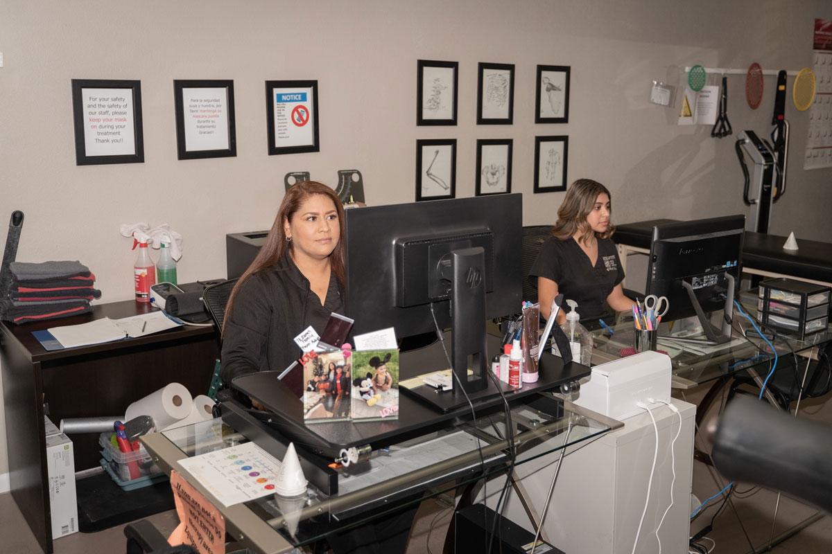 Back Pain Institute Office Secretaries