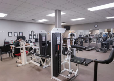 Back Pain Institute Physical Therapy Area